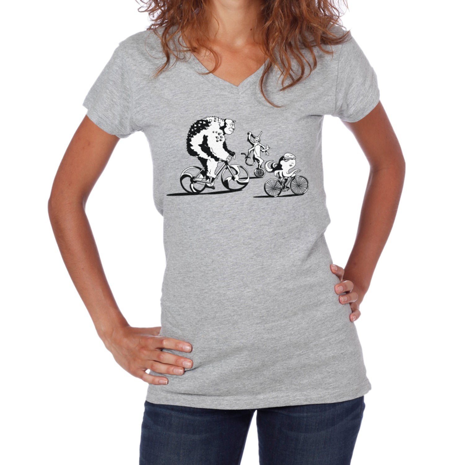 Women's Bike More Monsters T-Shirt