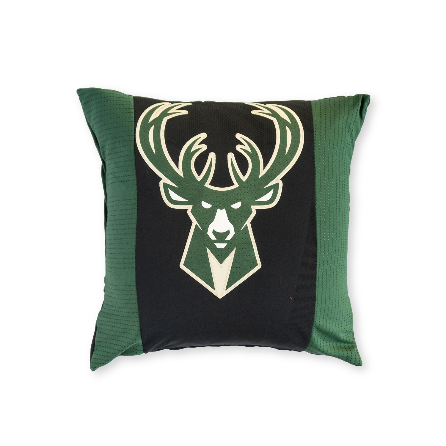 Milwaukee Bucks Upcycled Jersey Pillow Accessories - Looptworks