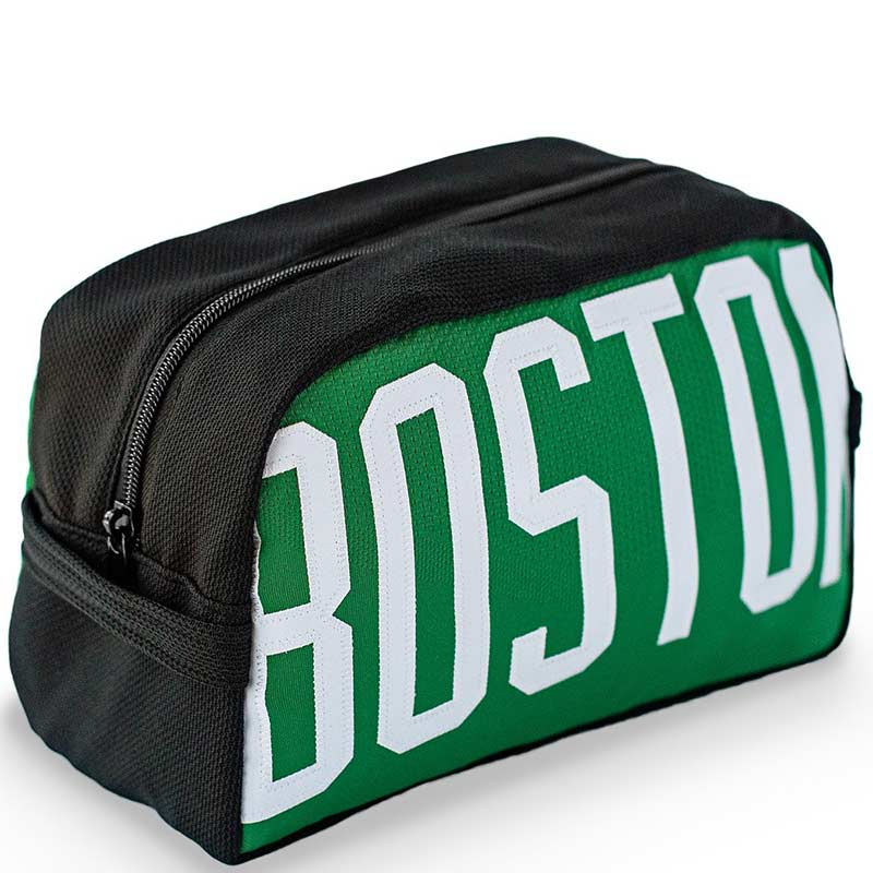 Boston Celtics Upcycled Travel Kit