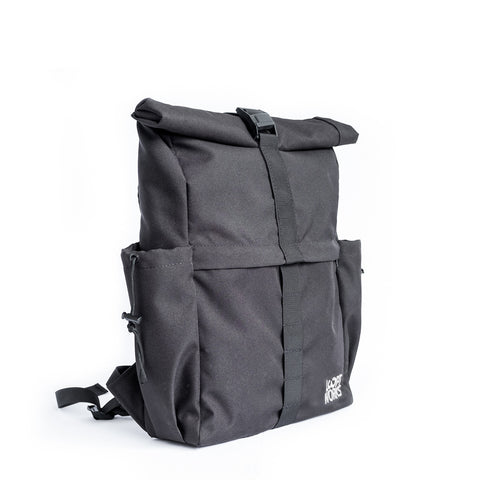 Going Rolltop Backpack - Black