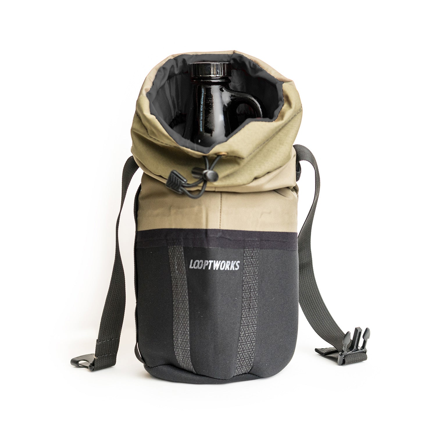 Looptworks neoprene growler carrier