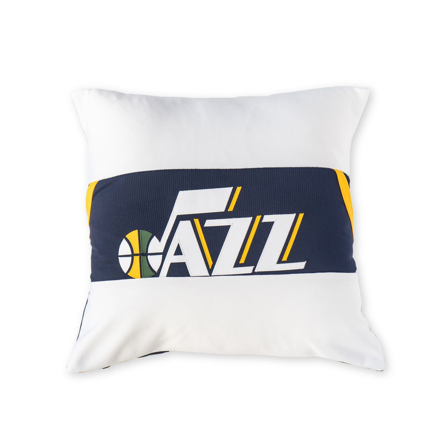 Utah Jazz Upcycled Jersey Pillow