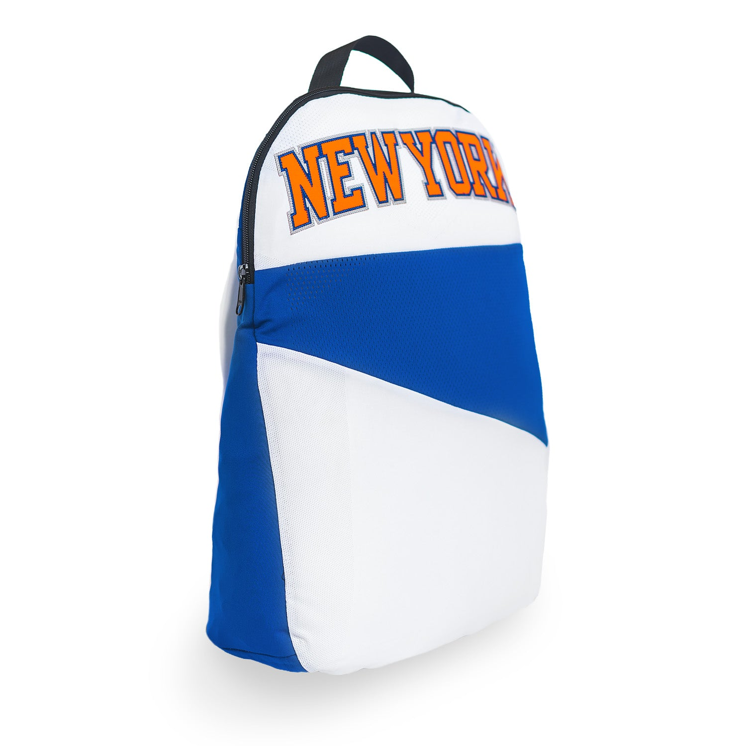 New York Knicks Upcycled Jersey Packable Backpack Backpacks - Looptworks