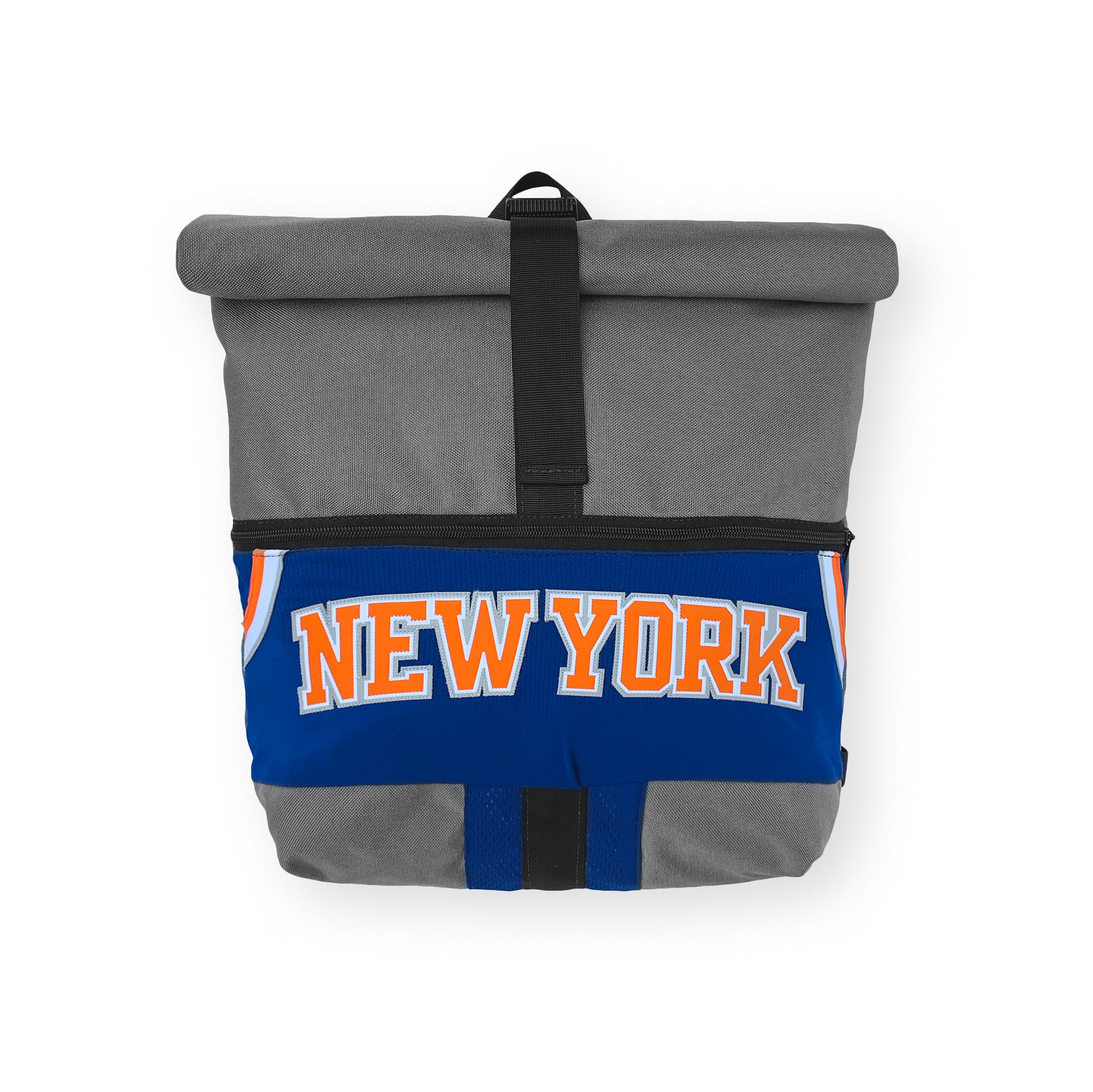 New York Knicks Upcycled Jersey Rolltop Backpack