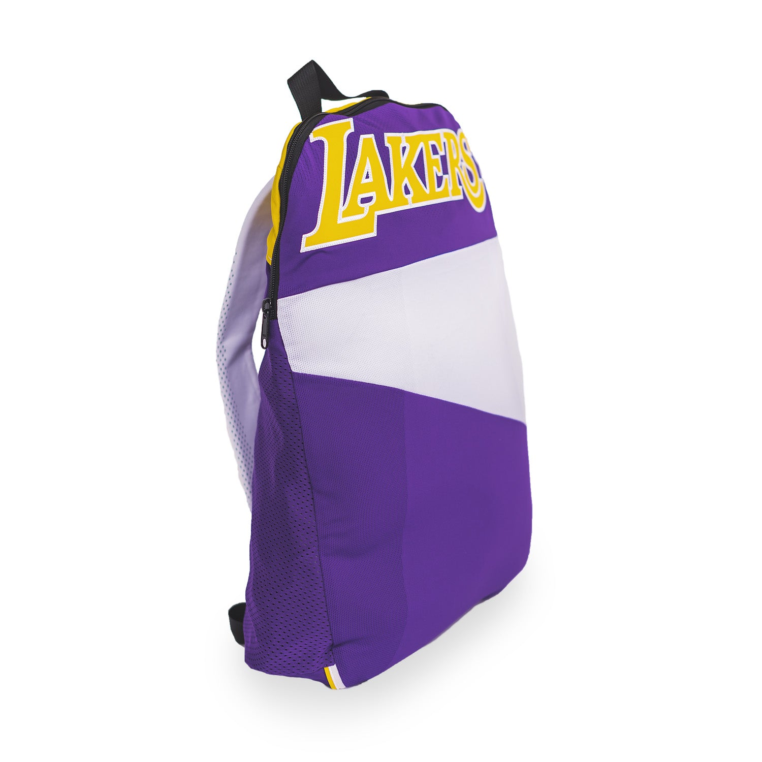 Los Angeles Lakers Upcycled Jersey Packable Backpack Backpacks - Looptworks