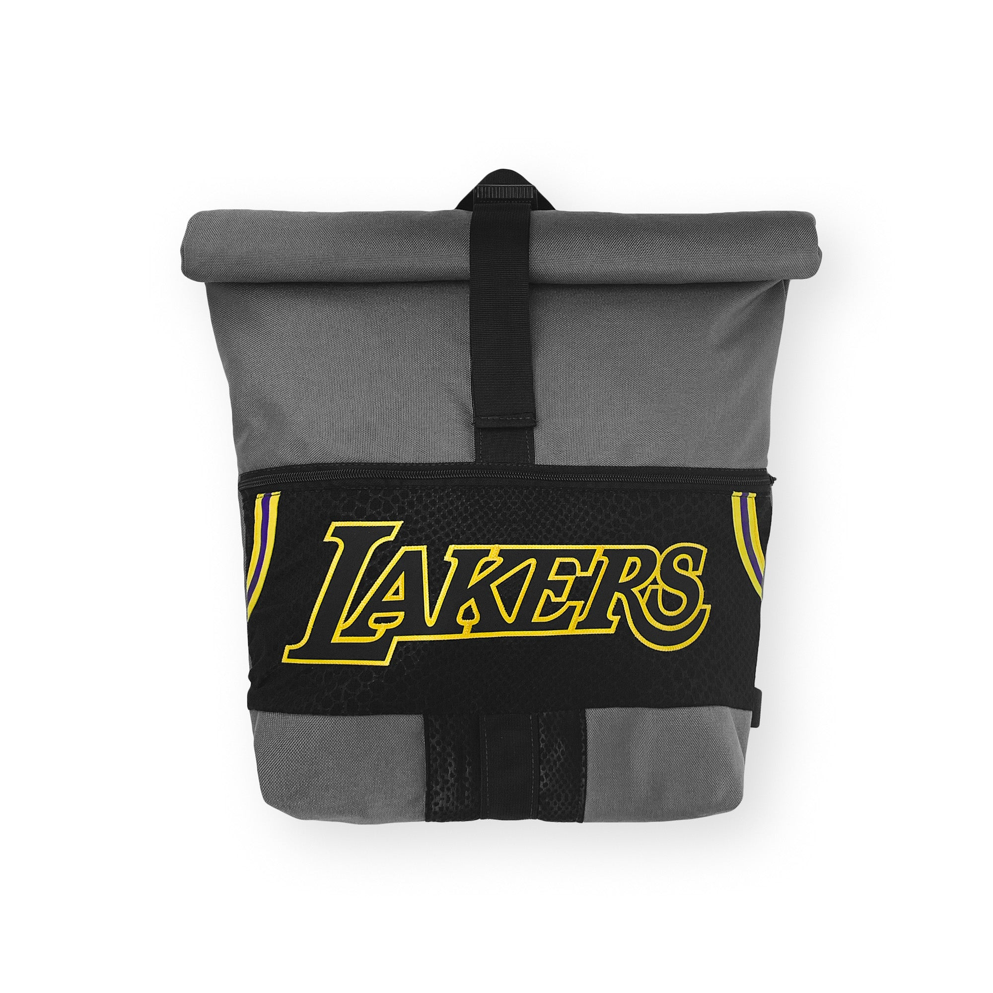 Los Angeles Lakers Upcycled Jersey Rolltop Backpack
