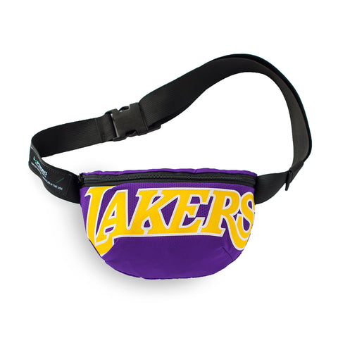 Los Angeles Lakers Upcycled Jersey Waist Bag