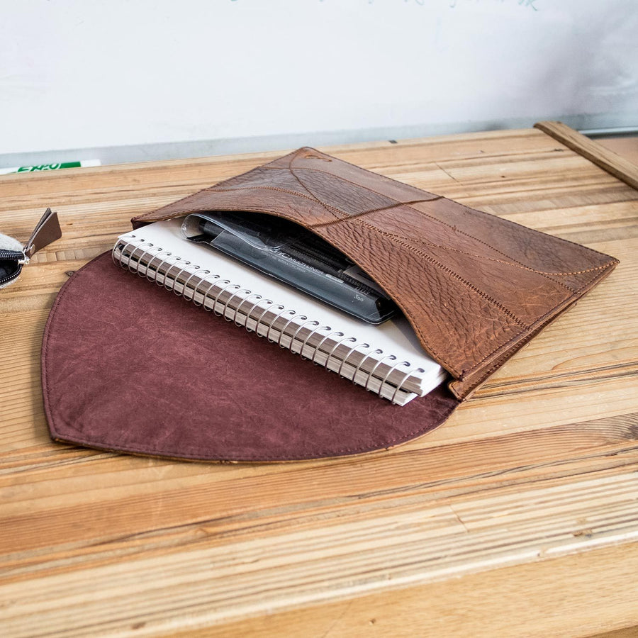 Luhu Leather Folio Case Laptop & Tablet Cases - Looptworks