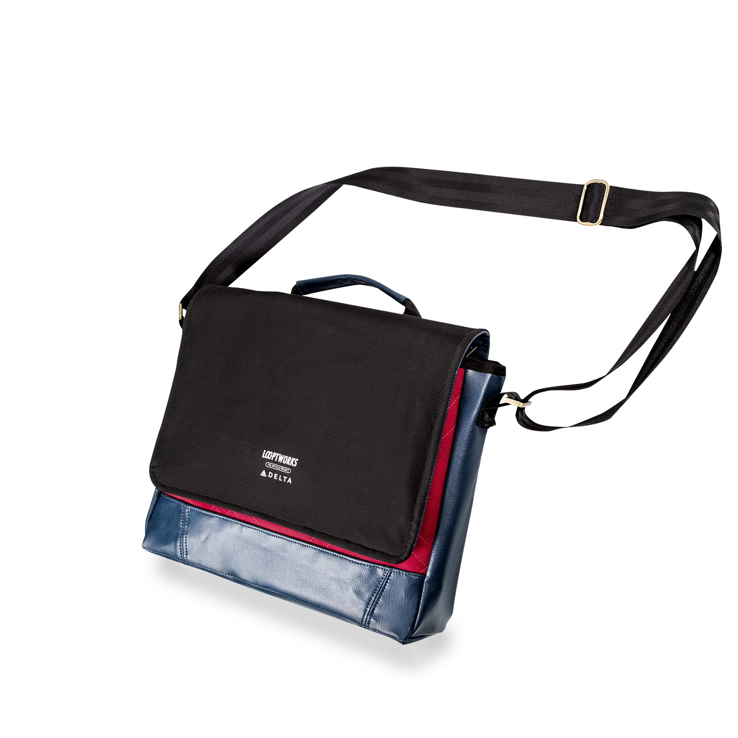 Delta Family Messenger Bag Messenger Bags - Looptworks