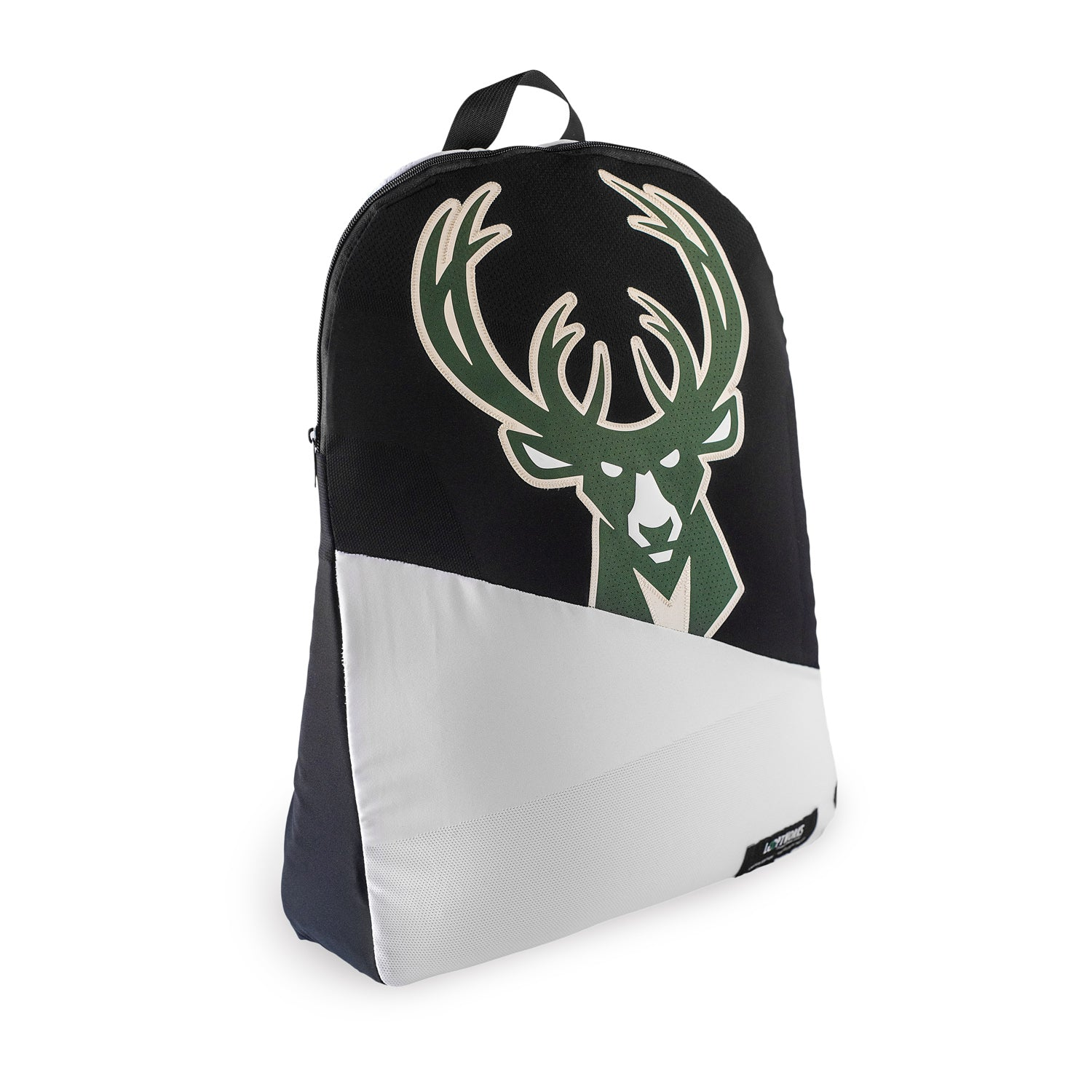 Milwaukee Bucks Upcycled Jersey Packable Backpack Backpacks - Looptworks
