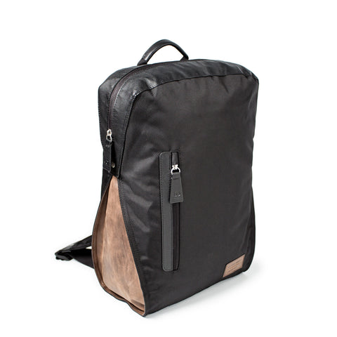 upcycled laptop backpack
