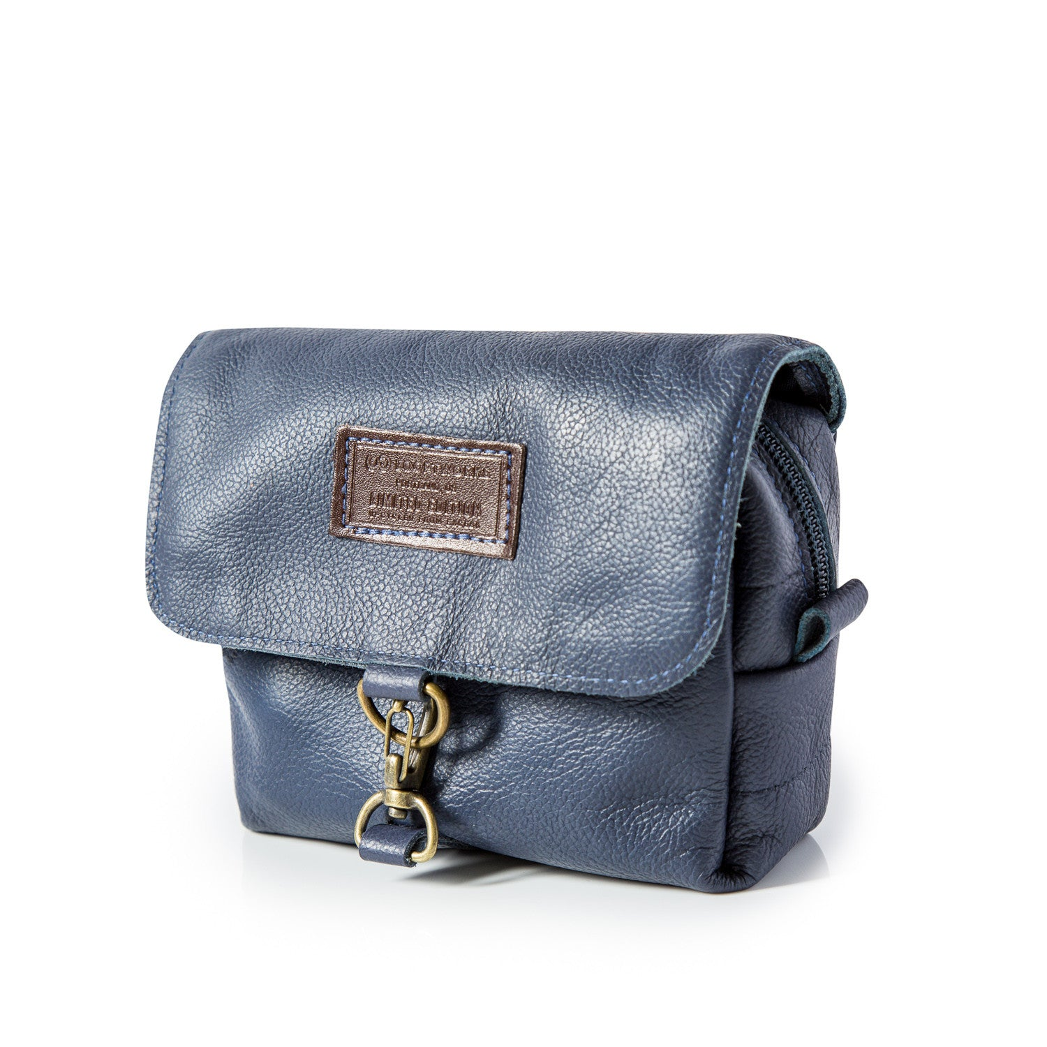 Mini Toiletry Bag Made From Recycled Southwest Airlines Leather Seat Covers