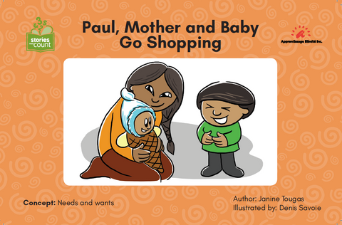 Paul, Mother and Baby Go Shopping
