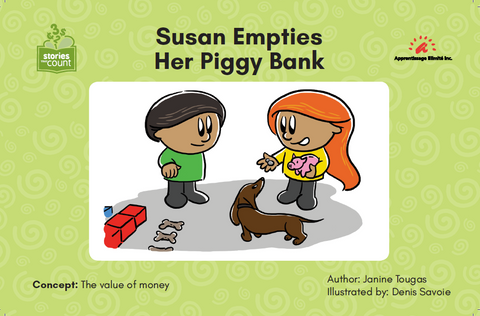 Susan Empties Her Piggy Bank