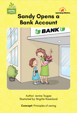 Sandy Opens a Bank Account