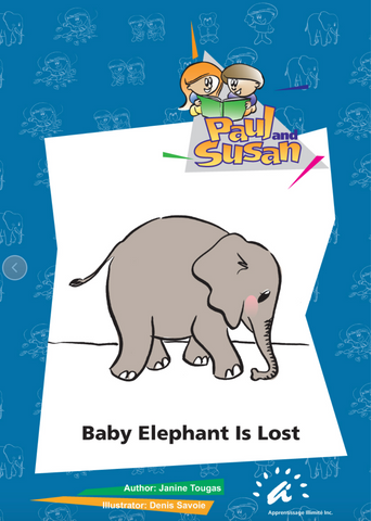 Baby Elephant is Lost