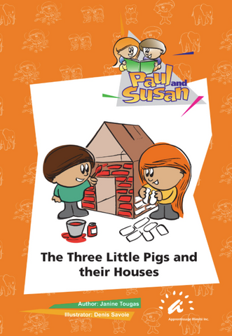 The Three Little Pigs and their Houses