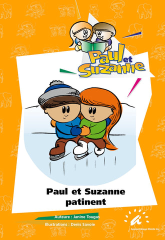 Paul et Suzanne patinent