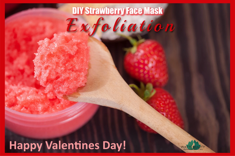 Best DIY Face Mask - Vibrantly Rich in Vitamin C and Alpha Hydroxy Acids, Strawberries are Perfect for Exfoliation!