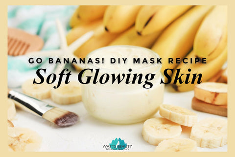Best DIY Face Mask - Soft, Glowing Skin in Minutes with Bananas