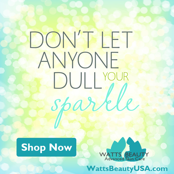 Don't let anyone dull your sparkle - Watts Beauty Retinol Cream - Best Selling Retinol Cream Skin Care