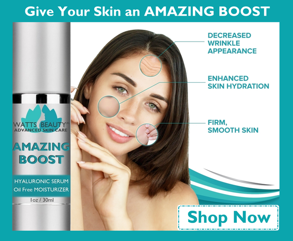 Watts Beauty Advanced Skin Care - Amazing Boost Will Take Your Skin Care Routine to the NEXT LEVEL.