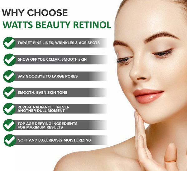 Why Choose Watts Beauty Retinol - Best Beauty Deals on Retinol Creams and Serums