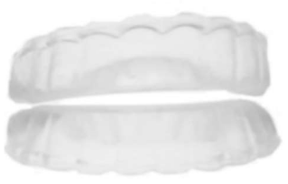 Comfort fit teeth whitening tray - No molding needed - 15 minute Teeth Whitening