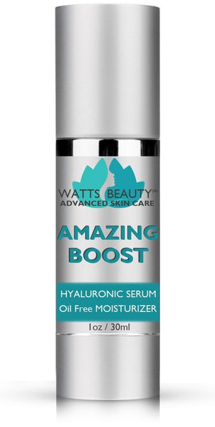 Watts Beauty Amazing Boost - Best Hyaluronic Acid Serum for Face