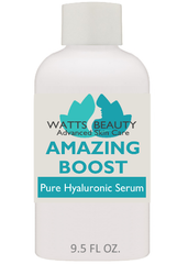 Give Your Skin an Amazing Boost with This Optimized Multi-Weight Pure Hyaluronic Acid Serum for Face - Instantly decrease the appearance of fine lines and wrinkles - WattsBeautyUSA.com