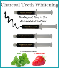 Watts Beauty Activated Coconut Charcoal Teeth Whitening Gel - WattsBeautyUSA.com