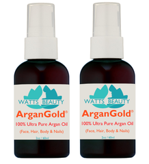 Ultra ArganGold 100% Pure Argan Oil for Face, Hair & Body - Super Concentrated Triple Refined 100%  Pure Argan Oil - WattsBeautyUSA.com
