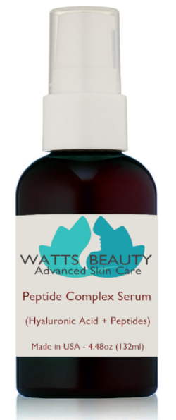 Potent Peptide Firming Wrinkle Serum - Collagen & Elastin Booster - 3 Months Supply