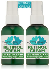 2.5% Retinol Cream or Serum for Smooth, Clear Skin