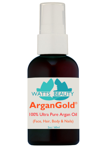 Ultra ArganGold 100% Pure Argan Oil for Face, Hair & Body - Super Concentrated Triple Refined 100%  Pure Argan Oil
