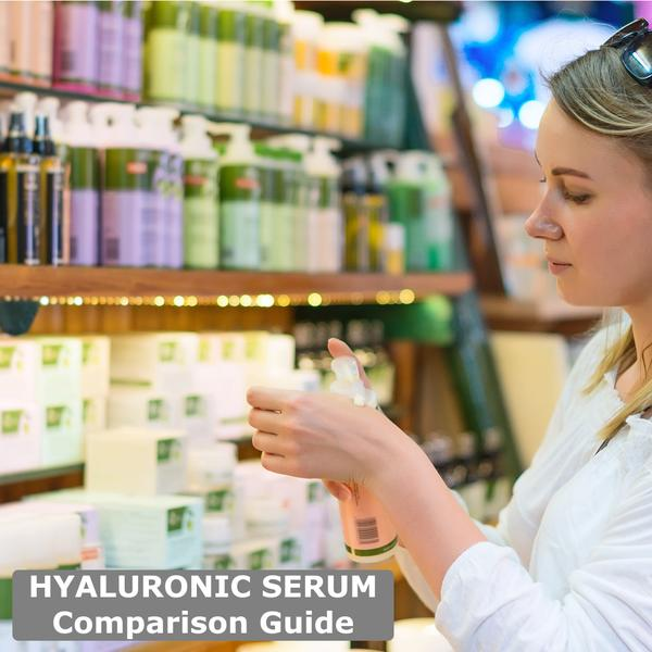 Rated #1 Hyaluronic Acid Serum by Dr Sheila Jones and Thousands of Other Beauty Bloggers