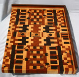 End Grain Cutting Board- Custom sizes, design and counter tops