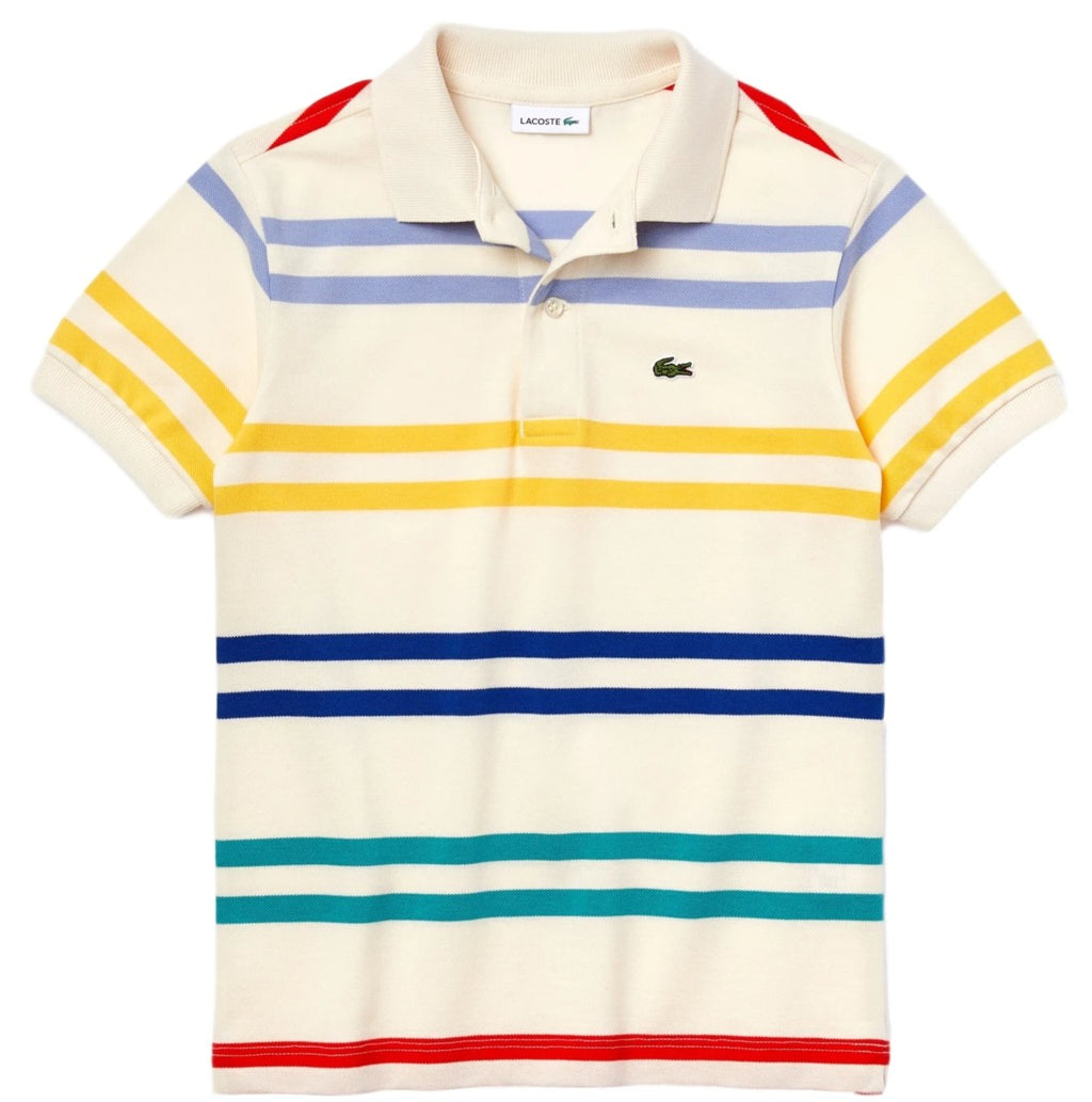 Lacoste Double Striped Polo