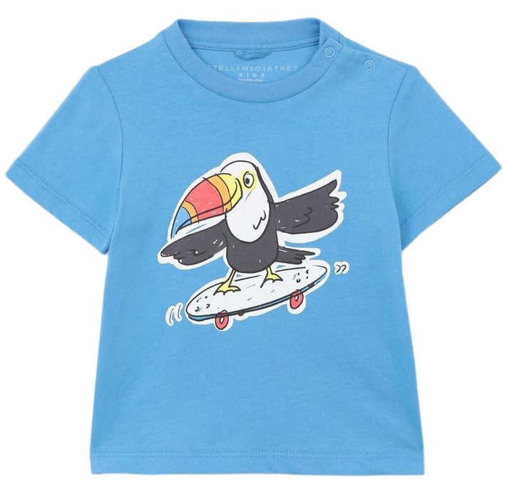 Stella McCartney Short Sleeve Toucan Tee Shirt