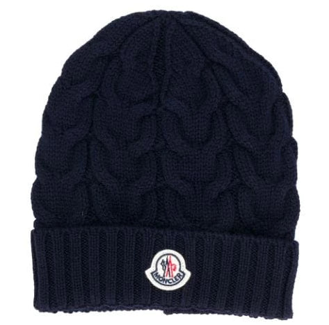 Moncler 04S02 Cable Knit Hat
