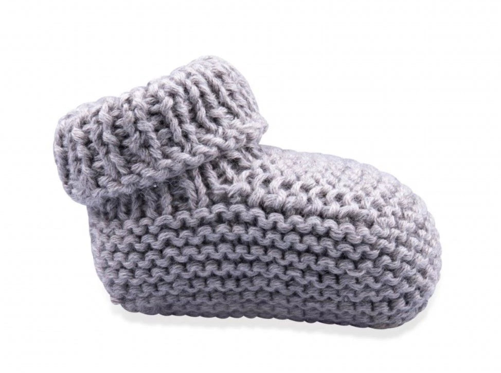 Knot Knitted Booties