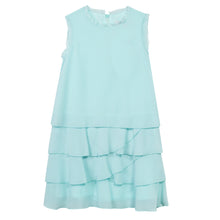 LG60Q-09-Lima-A Crepe layered dress