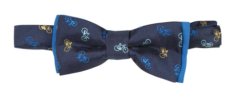 Paul Smith Raycat Bicycle Print Bow Tie