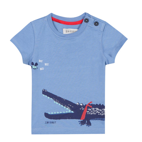 Jean Bourget JL10024 Short Sleeves Crocodile Tee