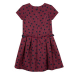 Lili Gaufrette Lollipop Textured Sort Sleeve Dress