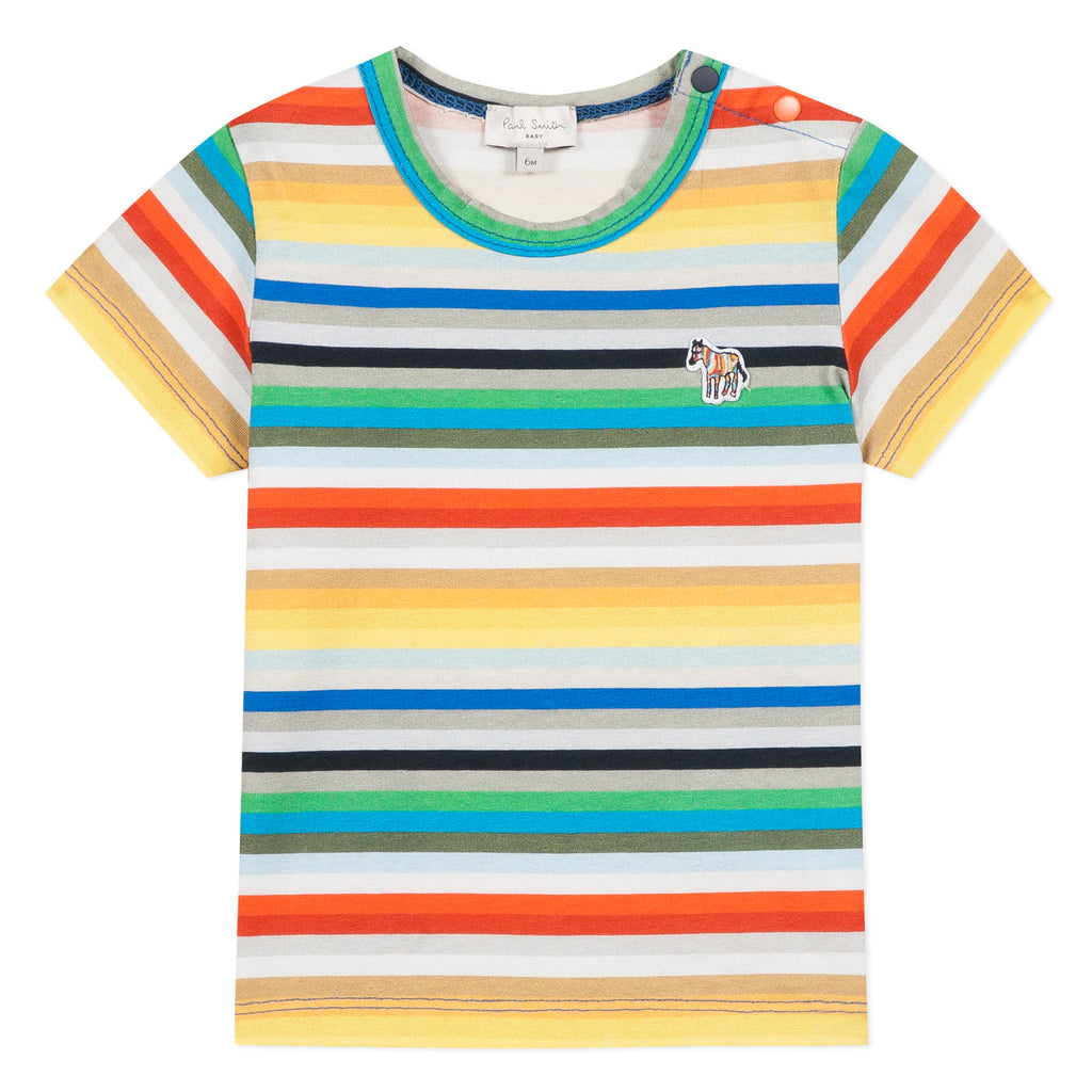 Paul Smith Junior Arlist Striped T-Shirt