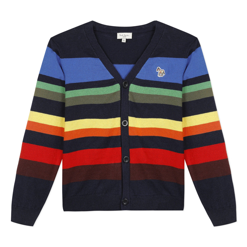 Paul Smith Junior Aleth Striped Cardigan
