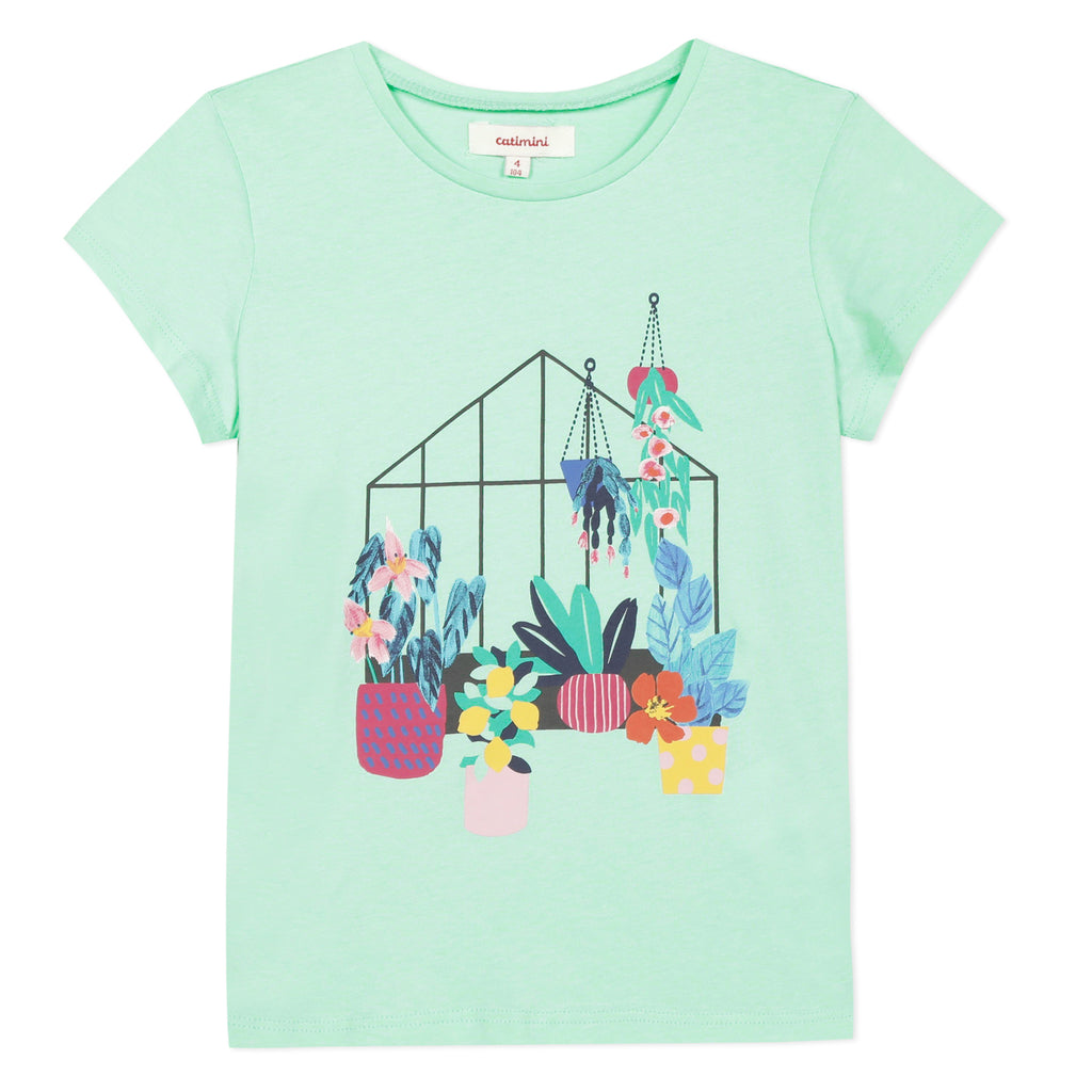 Catimini Girl's Flower Garden T-Shirt