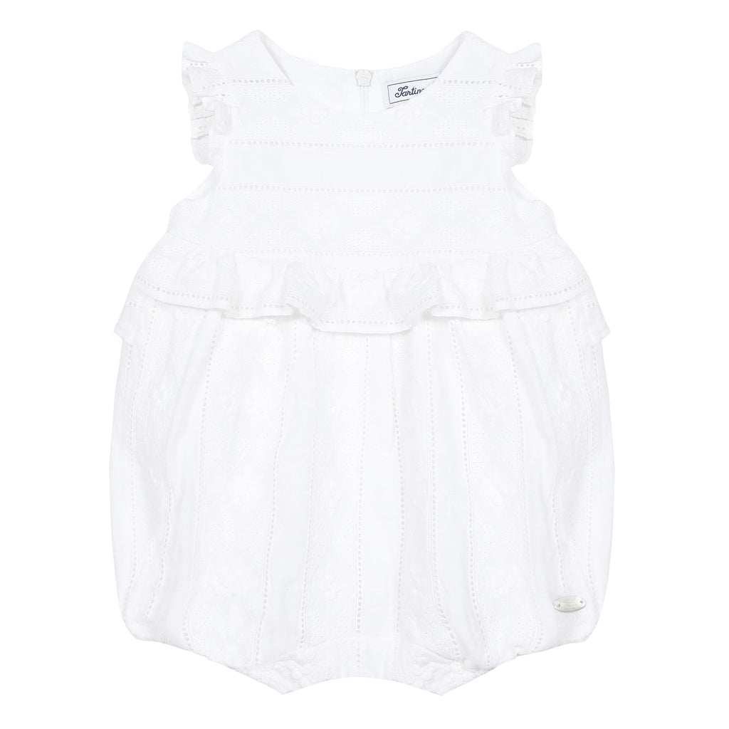 Tartine Baby Girl Embroidered Bubble