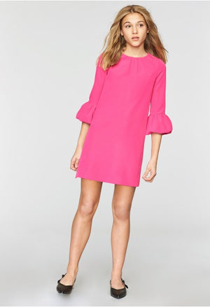 Milly Minis IC013924 Mandy Bubble Sleeve Dress